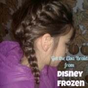 Elsa Braid to Prevent Head Lice